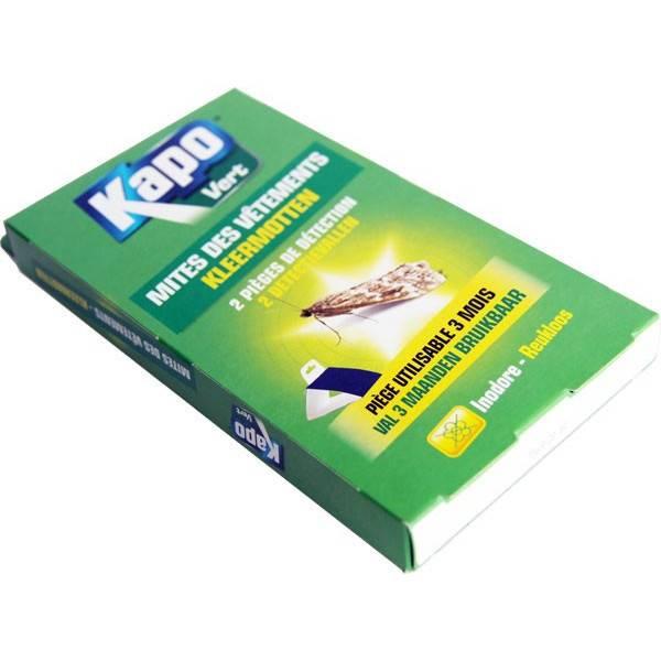 2 pièges de détection mites des vêtements - Kapo Vert - Vue 4