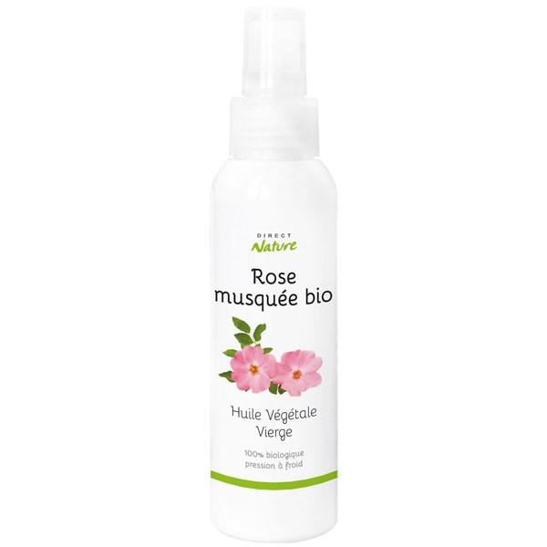 Huile végétale de rose musquée bio - 100 ml - Direct Nature