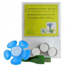 Cartouches de rechange pour diffuseur Fleur USB