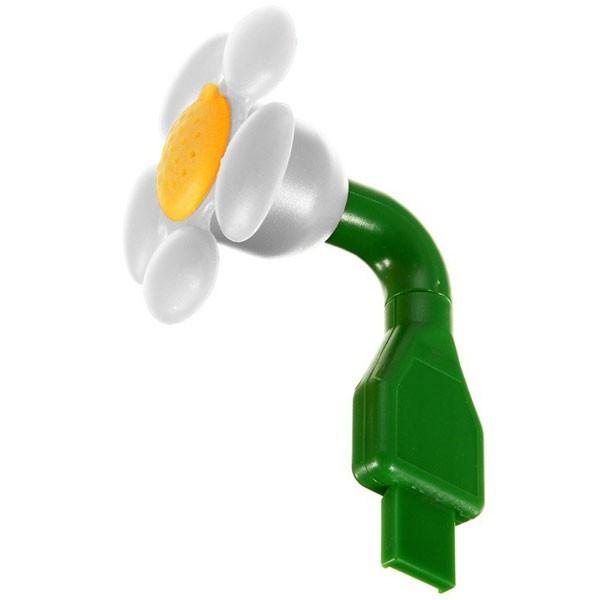 Diffuseur d'huiles essentielles USB Fleur Blanche