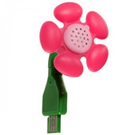 Diffuseur d'huiles essentielles USB Fleur Rose