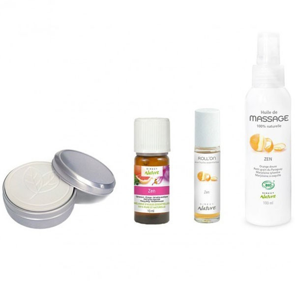 Contenu du coffret Aroma Zen - Direct Nature