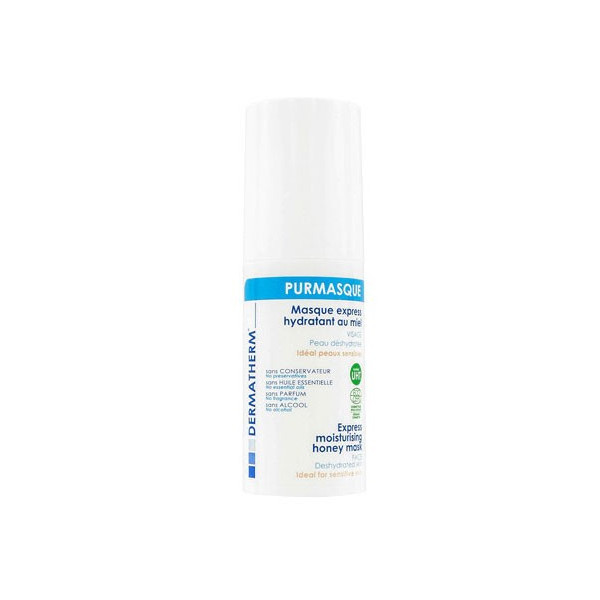Masque express hydratant Purmasque - Laboratoire Dermatherm