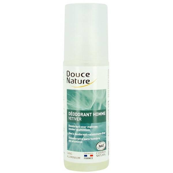 Nouvel emballage pour le déodorant corporel Homme Vétiver Bio
