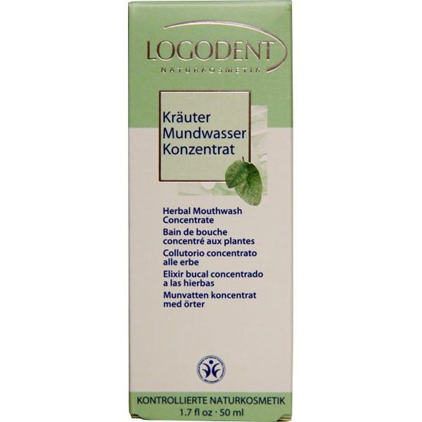 Bain de bouche concentré aux herbes - 50 ml - Logodent - Vue 1