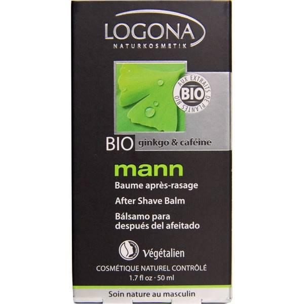 Baume après rasage Mann – flacon de 50 ml - Logona - Vue 2