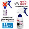 Le spray Zéro Puce pour Chat change d'étiquette