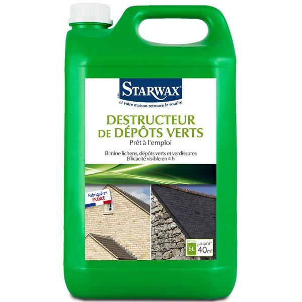 Destructeur de dépôts verts - Prêt à l'emploi - 5 litres - Starwax