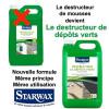 Le destructeur de mousses Starwarx devient le destructeur de dépôts verts