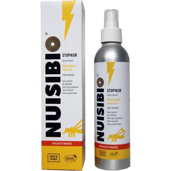 Spray STOPIKUR Nuisibio – Désodorisant anti-moustiques