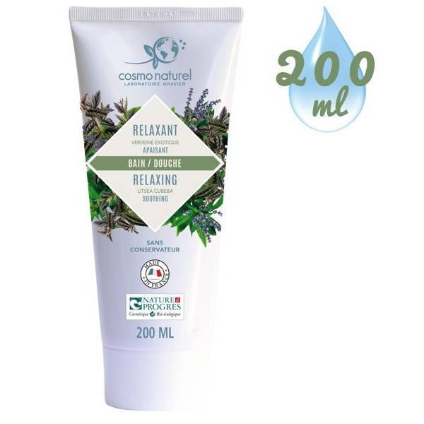 Gel bain & douche Relaxant Verveine exotique - 200 ml – Cosmo Naturel