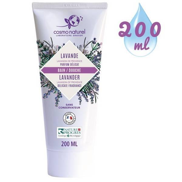 Gel bain & douche Lavandin de Provence - 200 ml – Cosmo Naturel