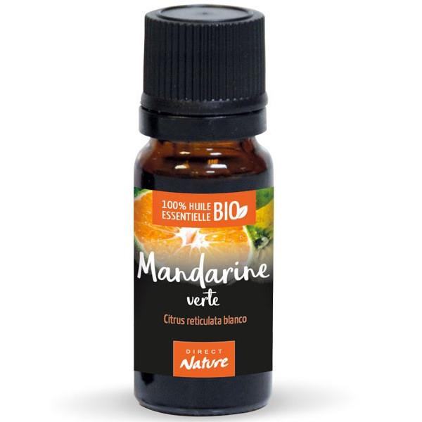 Mandarine verte AB - Zeste - 10 ml - Huile essentielle Direct Nature
