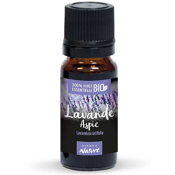 Lavande aspic AB - Fleurs - 10 ml - Huile essentielle Direct Nature