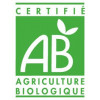 Logo AB pour l'huile essentielle de mandarine verte AB