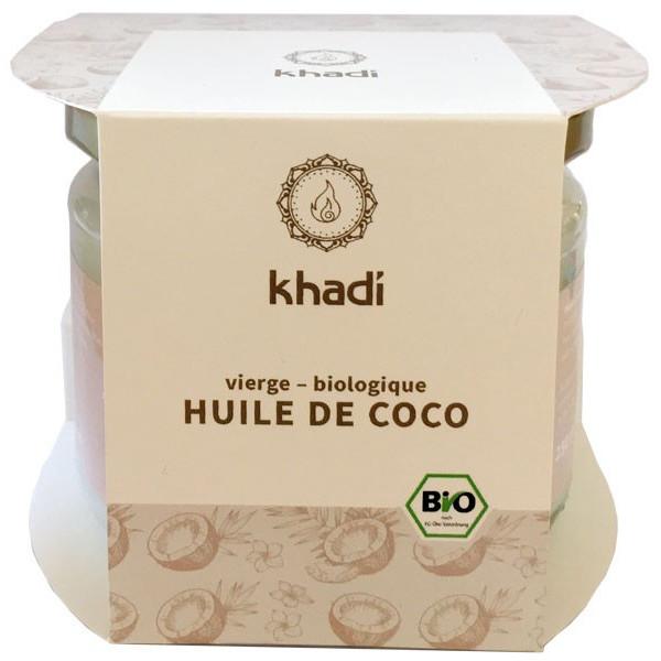 Huile de coco bio extra vierge - 250 gr - Khadi