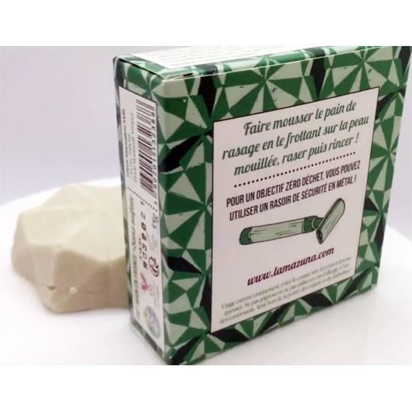 Pain de rasage solide - 55 gr - Lamazuna - Vue 1