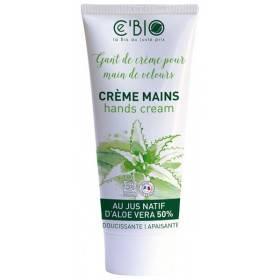 Crème pour les mains Aloe vera, argan et karité - 75 ml - Ce'Bio