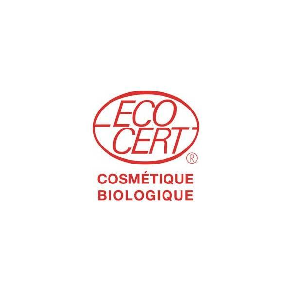 Logo Ecocert pour le savon Bio de beauté au lait d'Ânesse parfumé aux huiles essentielles de Patchouli et d'Ylang Ylang Bio – 10