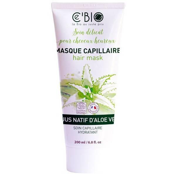 Masque capillaire au jus natif d'Aloe Vera - 200 ml - Ce'Bio