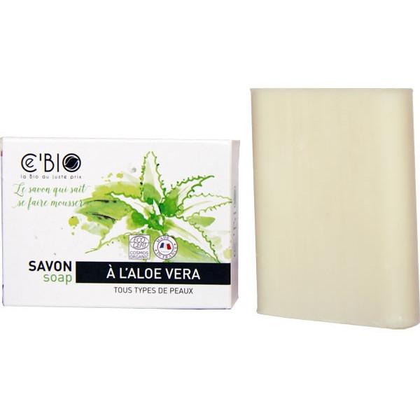 Savon à l'Aloe Vera - 100 gr - Ce'Bio - Vue 1