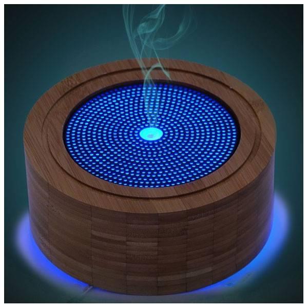 Diffuseur ultrasonique ELIA - 50 m² - ambiance bleue
