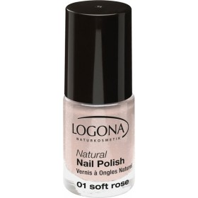 Vernis à ongles naturel n°01 soft Rose - Logona