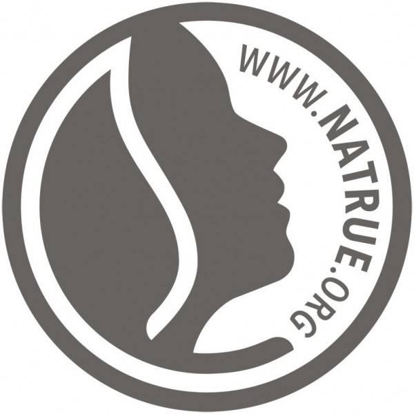 Logo Natrue pour le vernis à ongles naturel n°02 Deep Berry - Logona