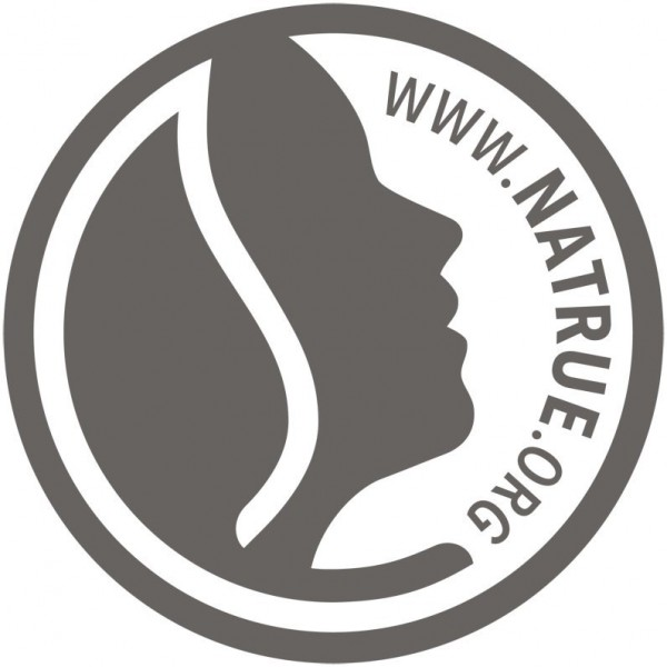 Logo Natrue pour le vernis à ongles naturel n°03 Classic Red - Logona