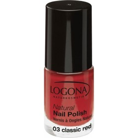 Vernis à ongles naturel n°03 Classic Red - Logona