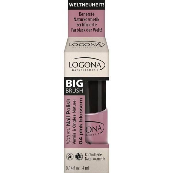 Vernis à ongles naturel n°04 Pink Blossom - Logona - Vue 1