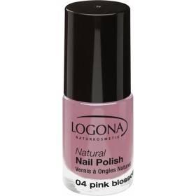 Vernis à ongles naturel n°04 Pink Blossom - Logona