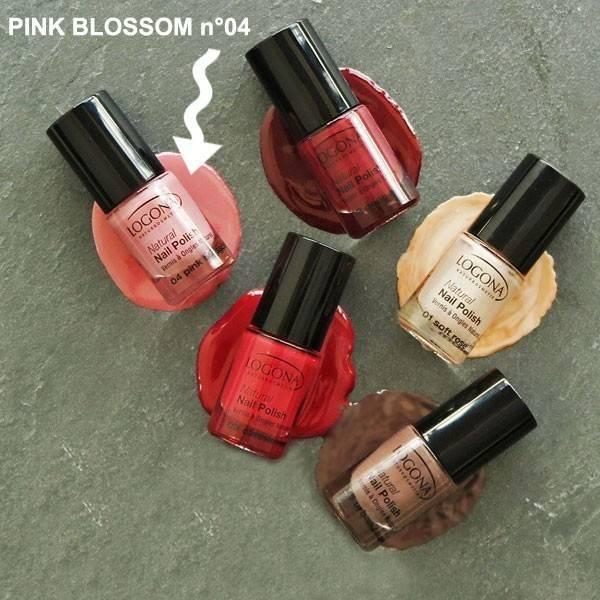 Vernis à ongles naturel n°04 Pink Blossom - Logona - Vue 2