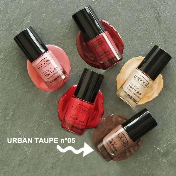 Vernis à ongles naturel n°05 Urban Taupe - Logona - Vue 2