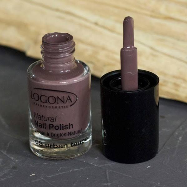 Vernis à ongles naturel n°05 Urban Taupe - Logona - Vue 3