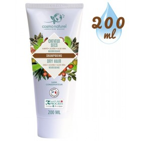 Shampooing Cheveux Secs Karité Jojoba Aloe - 200 ml – Cosmo Naturel
