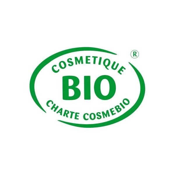 Logo Cosmebio pour le savon Bio de beauté au lait d'Ânesse Miel sans parfum – 100 gr – Cosmo Naturel