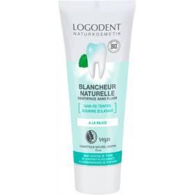 Dentifrice Blancheur naturelle Logodent - 75 ml