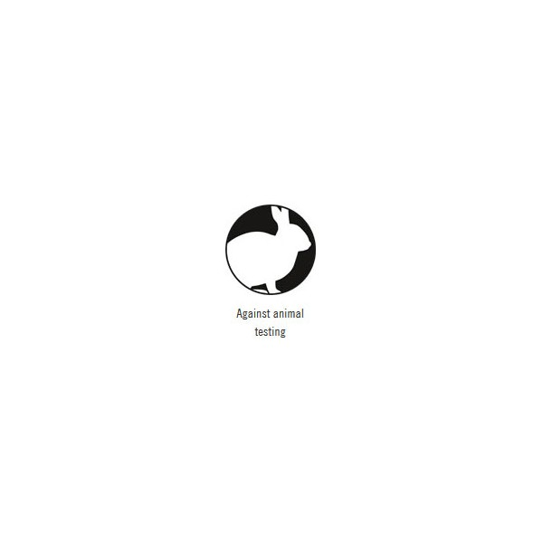 Logo Against animal testing pour le vernis à ongles N°07 Metallic Lavander Sante