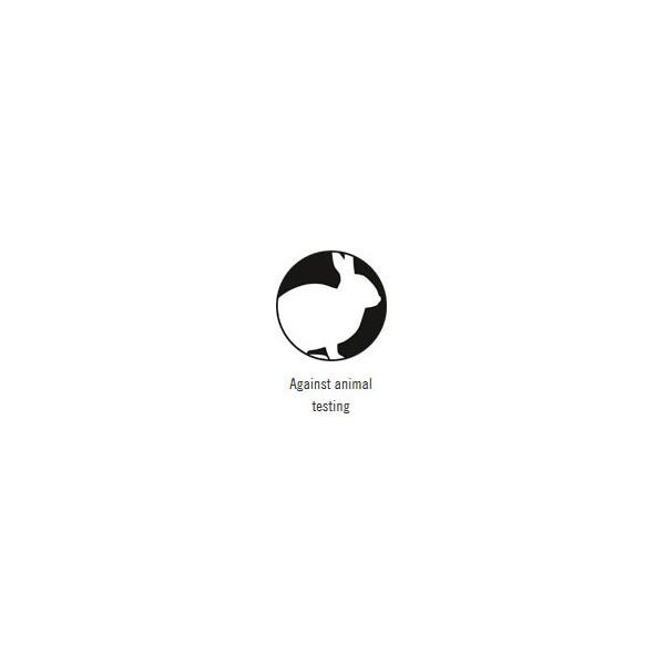 logo Against animal testing pour le shampooing Gingko et Olive bio - 950 ml - SANTE Family