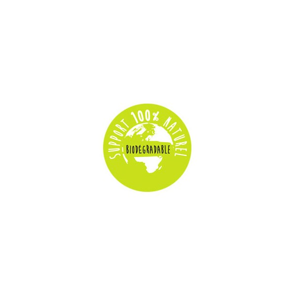 Support 100% naturel biodégradable pour la pyramide fumigène anti-insectes Volkano