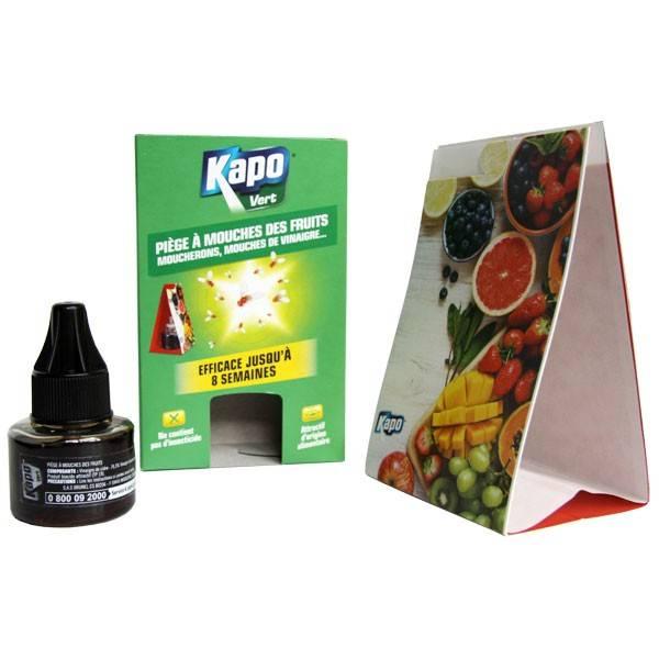 Piège à mouches des fruits, moucherons, mouches de vinaigre - Kapo Vert - Vue 2