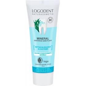 Dentifrice minéral sans fluor – 75 ml – Logona