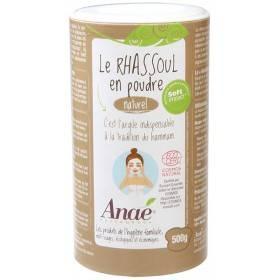 Rhassoul en poudre - 500 grs - Anaé
