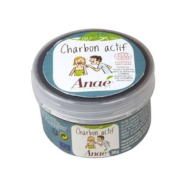 Charbon actif - 30 grs - Anaé