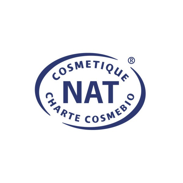 Logo Cosmebio pour le charbon actif Anaé