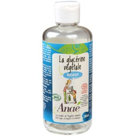 Glycérine végétale bio - 200 ml - Anaé