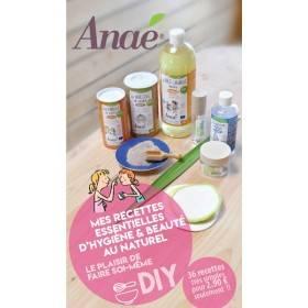 """Carnet """"Mes recettes essentielles d'hygiène & beauté au naturel"""" - Anaé"""