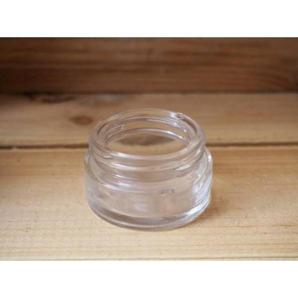 Pot en verre pour cosmétiques maison - 15 ml - Anaé - Vue 1