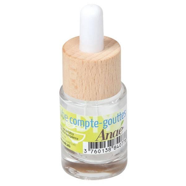Tube compte-gouttes en verre - 15 ml - Anaé